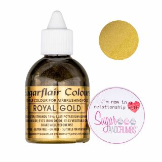 Sugarflair Airbrush Liquid ROSE GOLD
