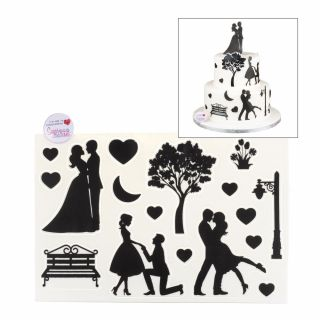 SugArt CutOut Plaque Romance