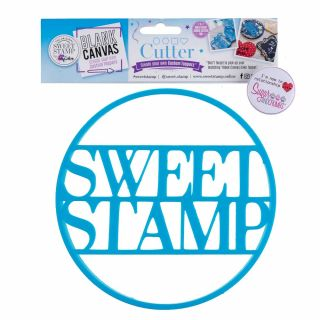 Sweet Stamp Blank Canvas CUTTER CIRCLE