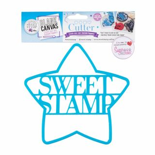 Sweet Stamp Blank Canvas CUTTER STAR