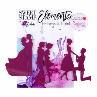 Sweet Stamp Elements COUPLE SILHOUETTES