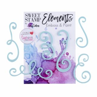 Sweet Stamp Elements CURLS.1