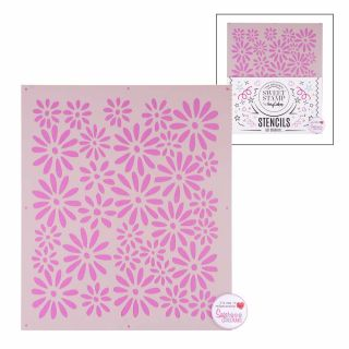Sweet Stamp Stencil Pattern 10