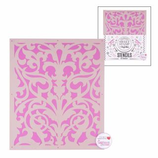 Sweet Stamp Stencil Pattern 4