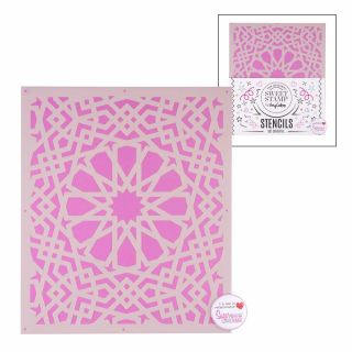 Sweet Stamp Stencil Pattern 5
