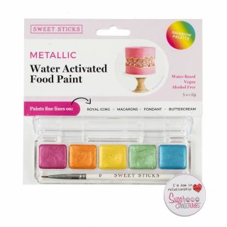 Sweet Sticks Mini Palette Food Paint RAINBOW