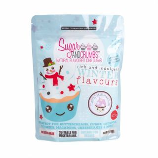 Sugar and Crumbs Natural Flavoured Icing Sugar TOASTED MARSHMALLOW 500g