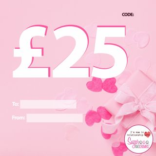 Gift Voucher £25 (Twenty Five Pounds)