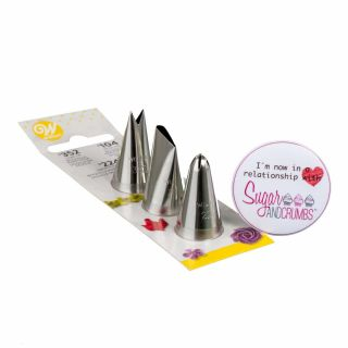 Wilton Flower AND LEAF Tips Pack of 4