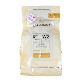 Callebaut BELGIAN WHITE CHOCOLATE COUVERTURE 1KG