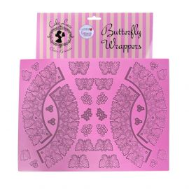Cake Lace Mat BUTTERFLY WRAPPERS
