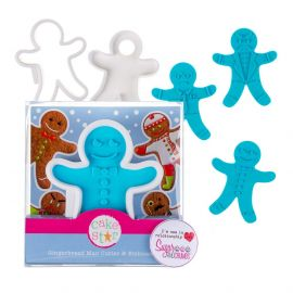 Cake Star Cutter and Stamp Embosser GINGERBREAD MAN