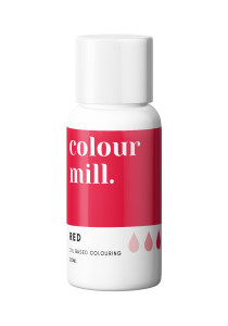 Colour Mill Oil Based Colouring RED 20ml