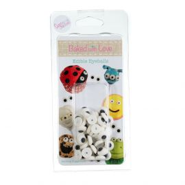 Baked with Love EDIBLE SUGAR EYES Pack of 50