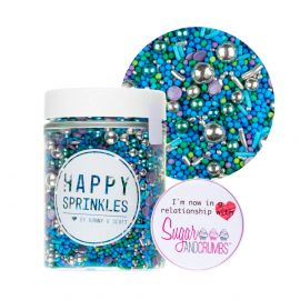 Happy Sprinkles MERMAIDS SECRET Edible Sprinkles 90g