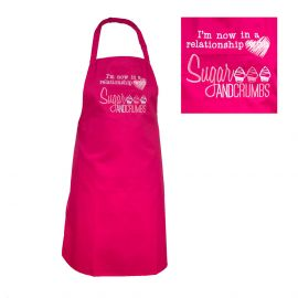 Sugar and Crumbs Apron HOT PINK One Size