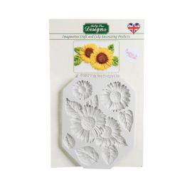 Katy Sue Silicone Mould SUNFLOWERS