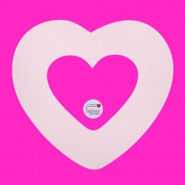 Stencil Large LOVE HEART Pack of 1