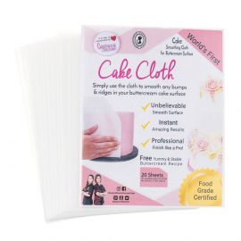 Queen of Hearts CAKE CLOTHS Pack of 20
