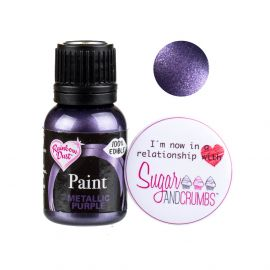 Rainbow Dust Paint METALLIC PURPLE