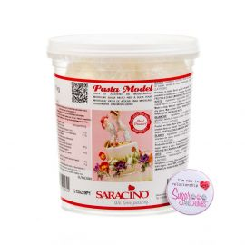 Saracino Modelling Paste Bianca WHITE Large Tub 1Kg