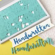 Sweet Stamp HANDWRITTEN Lettering Set with Presentation Box