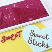 Sweet Stamp SWEET STICKS Lettering Set with Presentation Box
